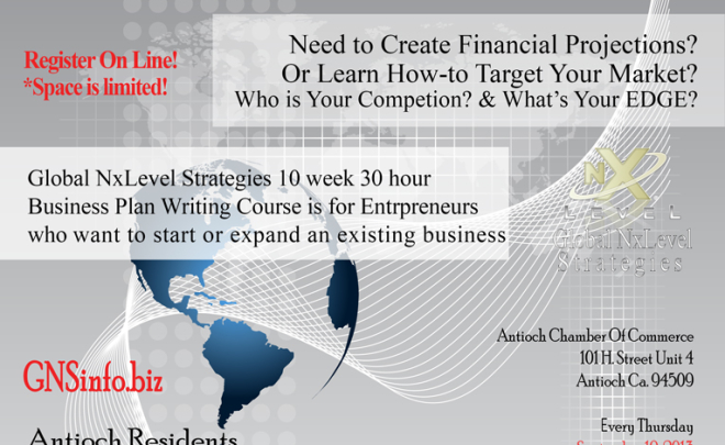 Antioch Business Planning Course