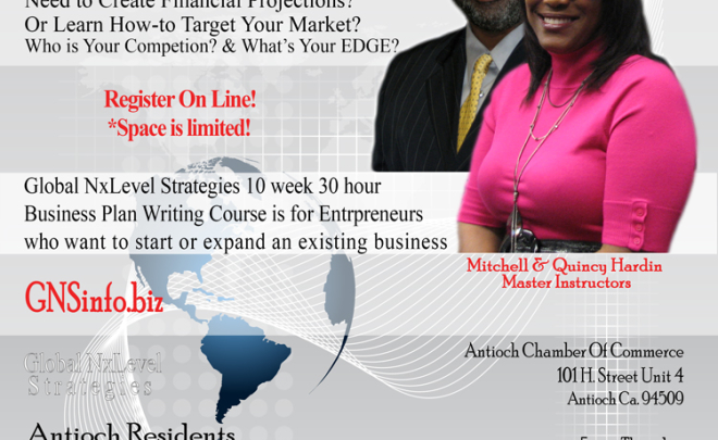 Antioch Business Planning Course 2013